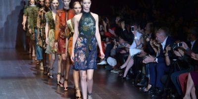 FOTOS. Las transparencias predominaron en el desfile de Gucci en la Semana de la Moda