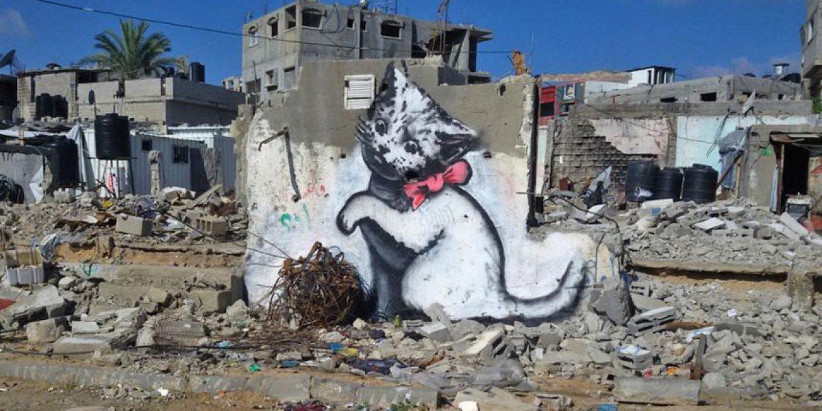 VIDEO. Lo último de Banksy desde Gaza