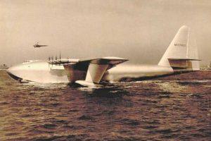 Hughes H-4 Hercules. Envergadura: 97,54 metros Foto:Wikimedia