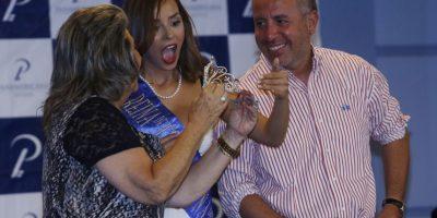 Junto a la alcaldesa de Viña del Mar, Virginia Reginato Foto:Gentileza