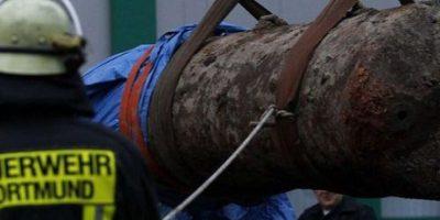 Encuentran bomba de la Segunda Guerra Mundial en estadio alemán