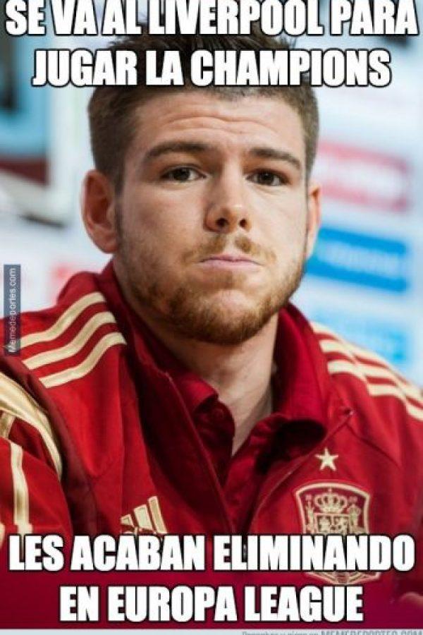 Se burlan de la llegada de Alberto Moreno al club inglés Foto:Memedeportes