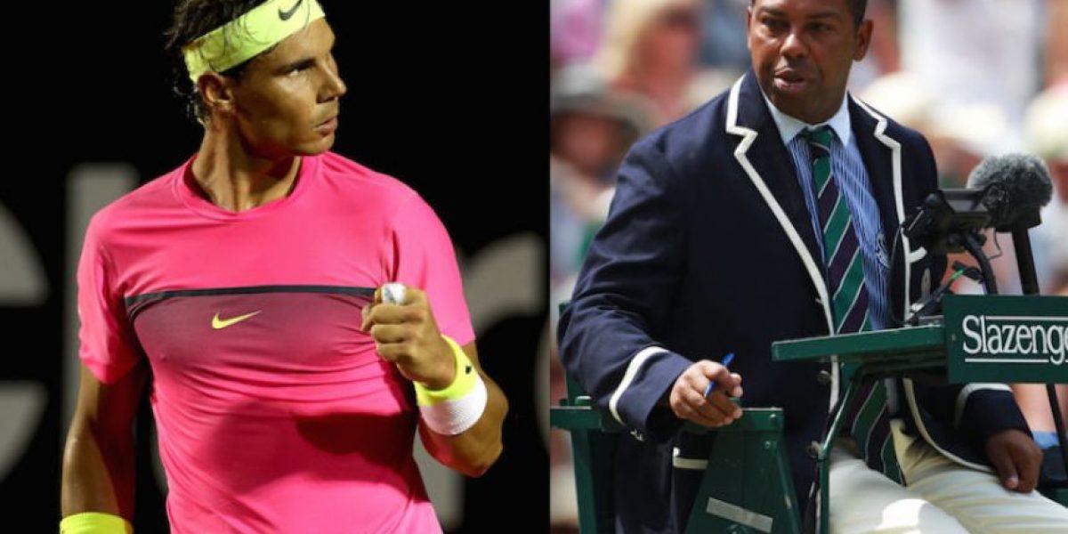 Por esto Rafael Nadal odia a este juez de silla latinoamericano