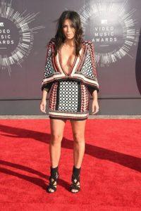 Así lució Kim Kardashian en los premios MTV VMA's 2014 Foto:Getty Images