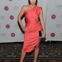 Esta es Kim en el evento Cosmetic Executive Women Beauty Awards, en 2010 Foto:Getty Images