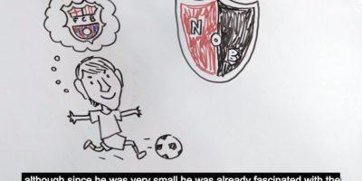 VIDEO: Cuentan la vida de Lionel Messi con dibujos en tres minutos
