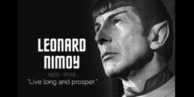 """""""Larga vida y prosperidad"""": Las celebridades se despiden de """"Spock"""""""