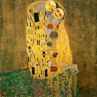 """El beso"" de Gustav Klimt Foto:Robert Macklin / Wikimedia Commons"