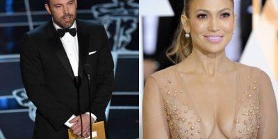 "FOTOS. Ben Affleck ""coqueteó"" con Jennifer López en los Óscar"