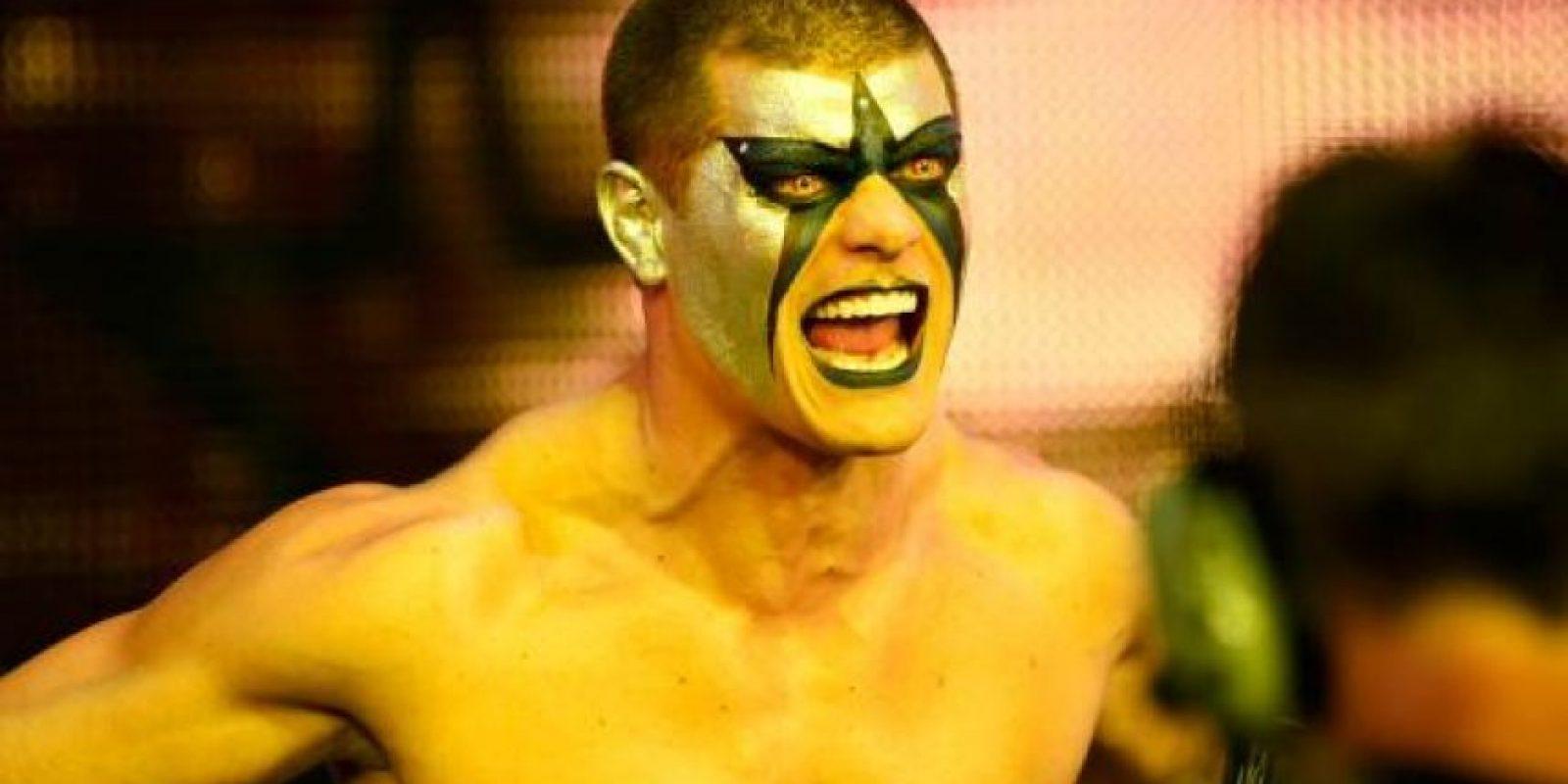 Y hermano de Cody Rhodes, ahora llamado Stardust Foto:WWE