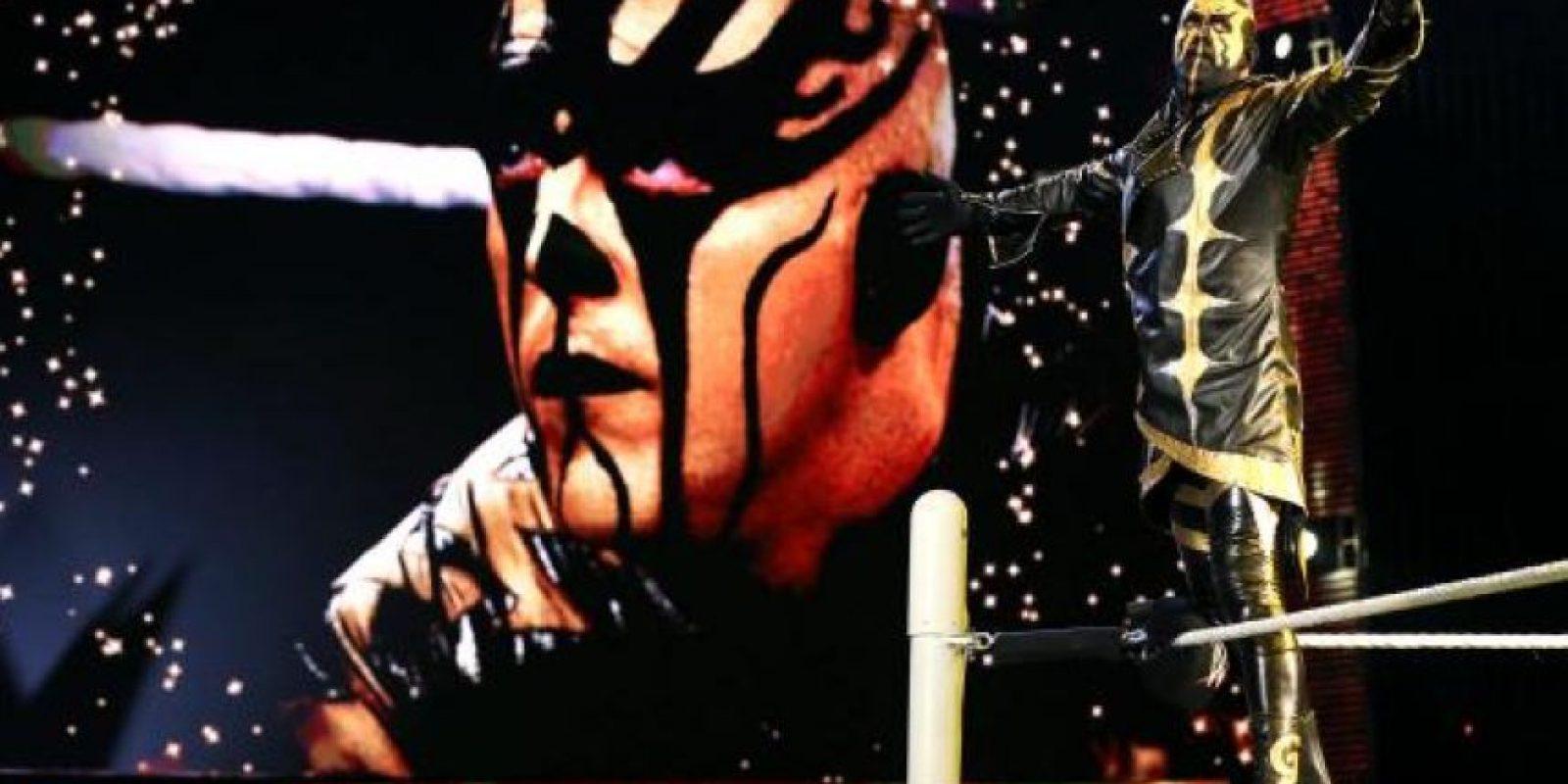 Es uno de los personajes más exóticos en la historia de la WWE Foto:WWE