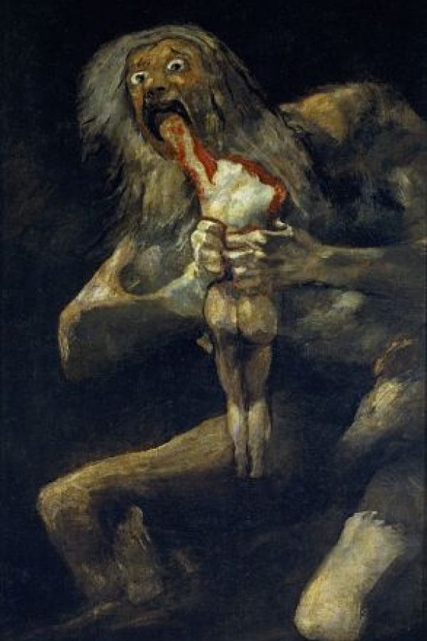 """""""Saturno devorando a un hijo"""" de Francisco Goya"""