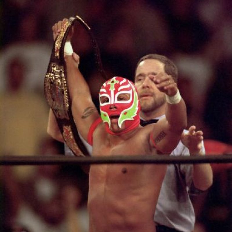 Pasó por la WCW y la ECW antes de arribar a la WWE Foto:Getty Images