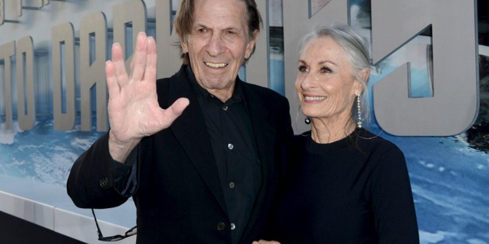 Junto a su mujer Foto:Getty Images
