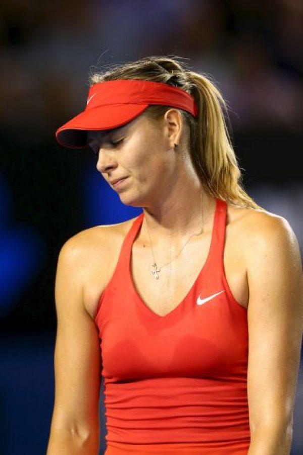 La tenista rusa no jugará las semifinales debido a una infección en el estómago Foto:Getty