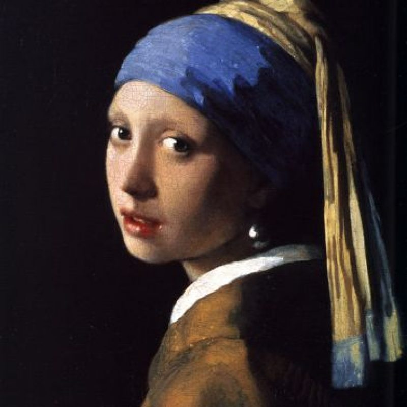"""La joven de la perla"" de Johannes Vermeer"