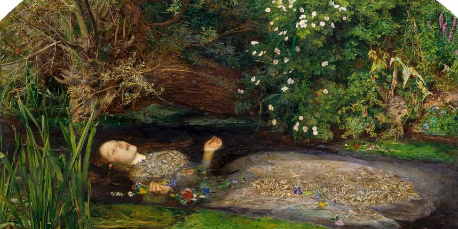 """Ofelia"" de Sir John Everett Millais"