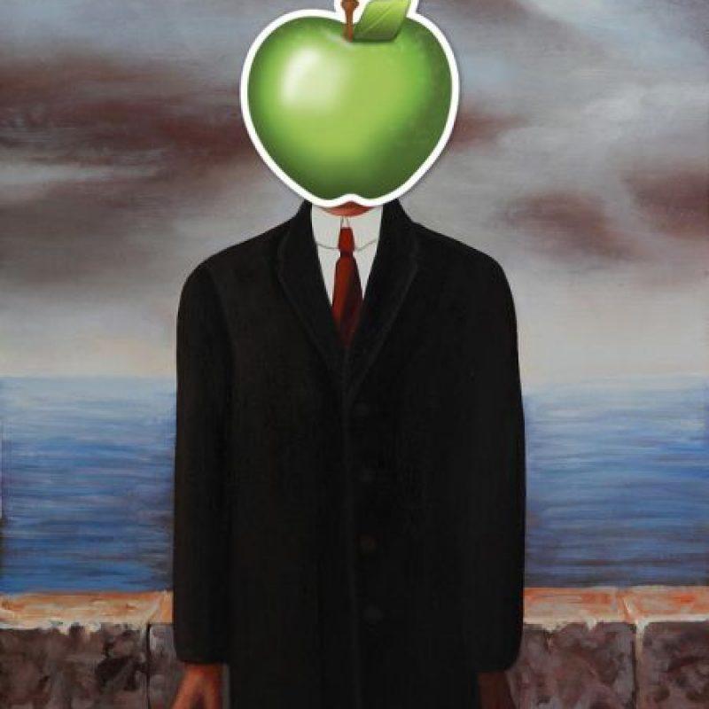 """""""El hijo del hombre"""" de René Magritte Foto:Robert Macklin / Wikimedia Commons"""