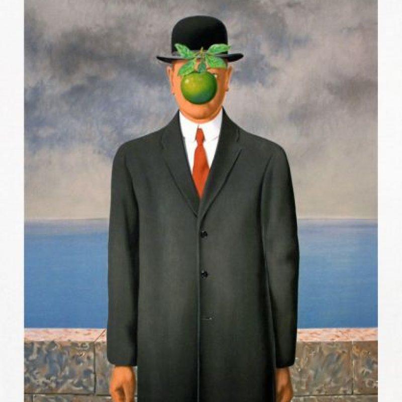 """""""El hijo del hombre"""" de René Magritte"""