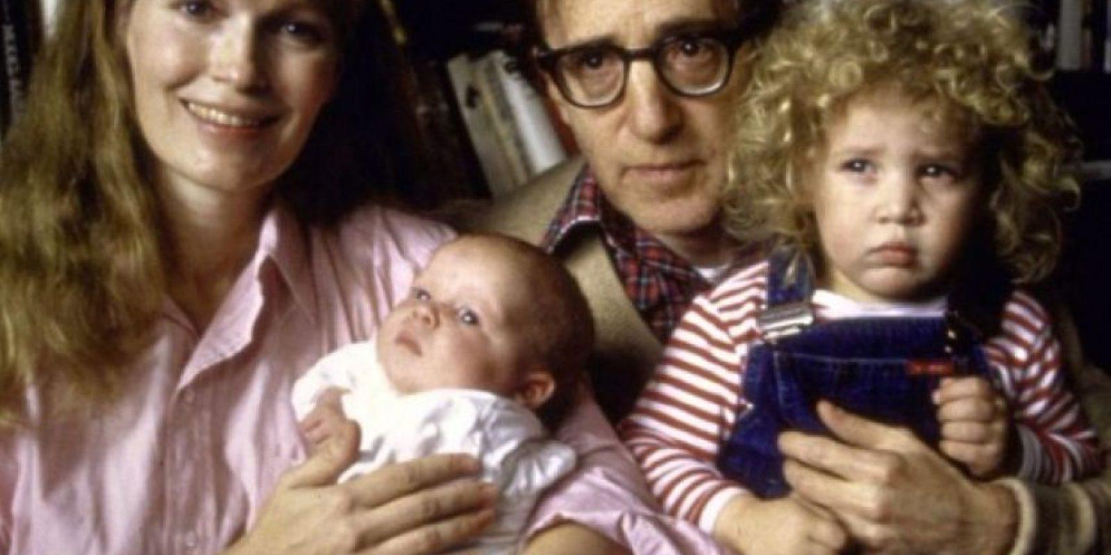 Woody Allen: al famoso director ya le han salpicado los escándalos. Se casó con una de sus hijas adoptivas, y otra hija adoptiva suya, Dylan Farrow, lo acusó este año de haber abusado de ella. Foto:Getty Images