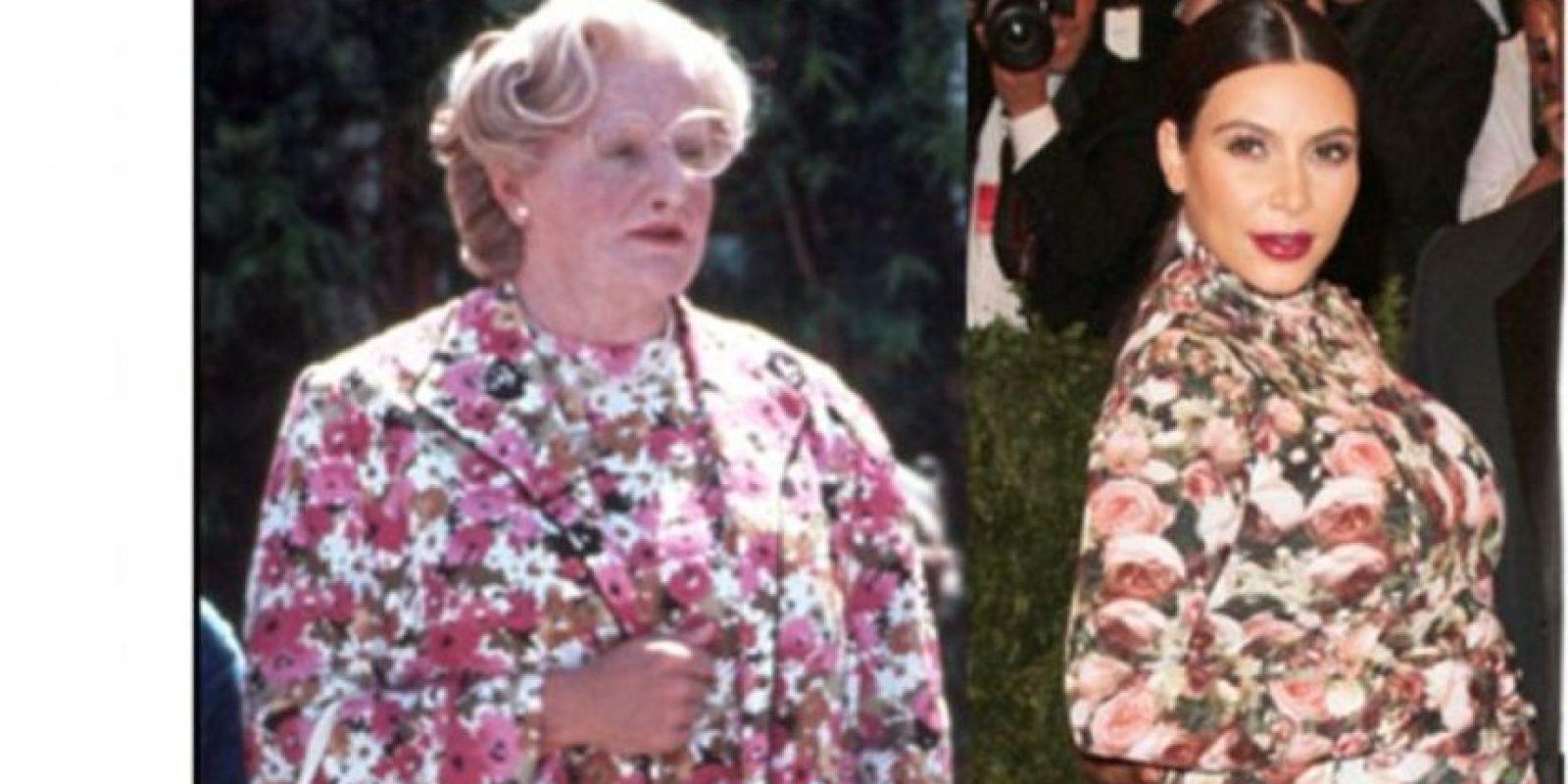 Incluso el difunto Robin Williams se burló de ella. Foto:Twitter