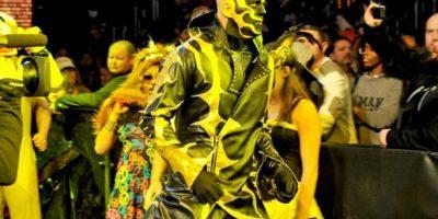 Así entra el dorado a las arenas Foto:WWE