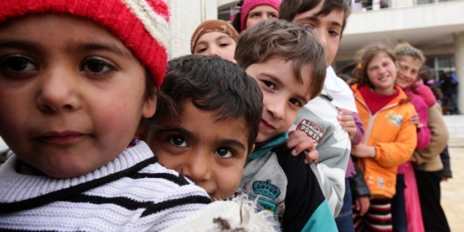 De acuerdo a la Organización de las Naciones Unidas, cerca de 10 mil niños han muerto a manos del grupo Foto:AFP