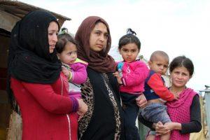 A las mujeres cristianas o yizadís las utiliza como esclavas sexuales Foto:AFP