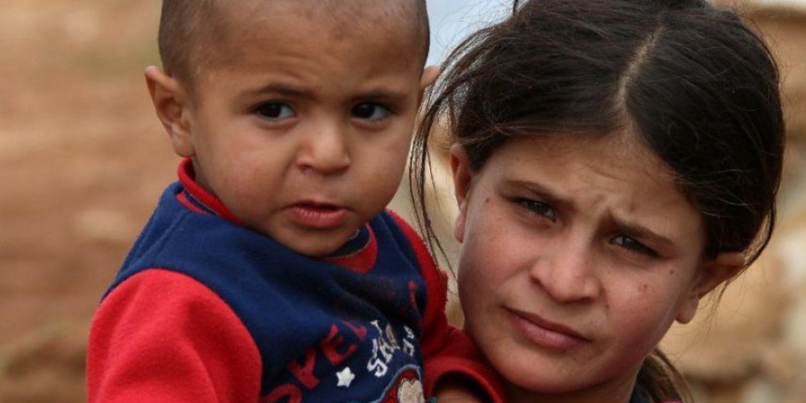 A principios de mes se dio a conocer que el grupo enterraba vivos a los niños Foto:AFP