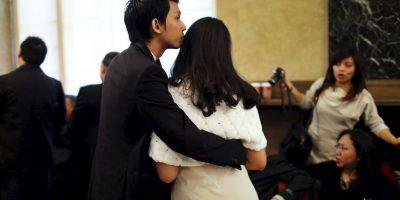 8. No hay posibilidad de que lo pierdas en la multitud, según IMujer. Foto:Tumblr.com/tagged-pareja-alto