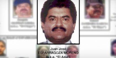 """2. Juan José Esparragoza Moreno, """"El Azul"""" Foto:PGR"""