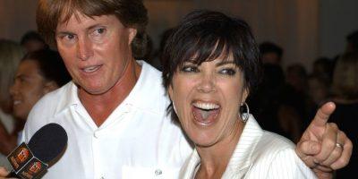 Kris y Bruce Jenner Foto:Getty Images