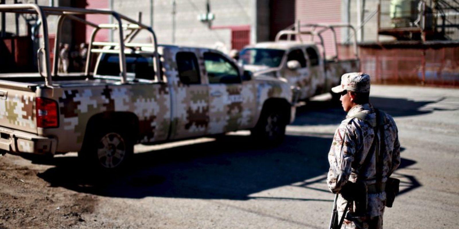 """Fue detenido en un operativo """"limpio"""" el 22 de febrero de 2014. Recientemente se dio a conocer que junto a otros capos del narcotráfico mexicano presentó una queja ante la Comisión Nacional de Derechos Humanos por """"las condiciones irregulares en las que se hace la visita familiar, el hacinamiento e insalubridad de las celdas, la precaria alimentación y los problemas con las llamadas telefónicas"""". Foto:Getty Images"""