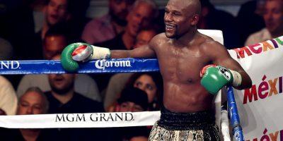 Son los mejores peleadores de la actualidad: Floyd Mayweather Foto:Getty