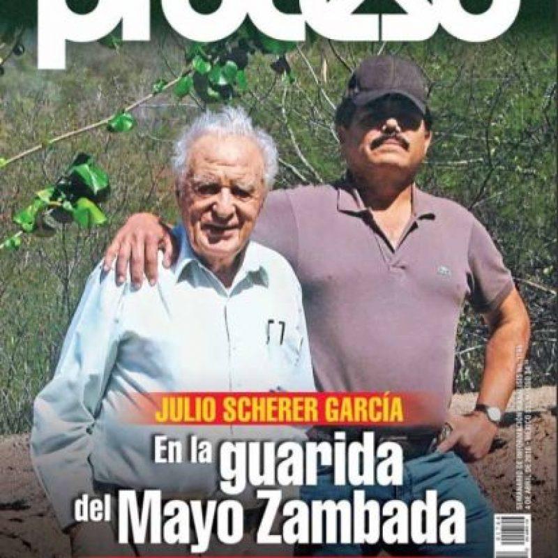 "1. Ismael Zambada García, ""El Mayo Zambada"" Foto:Proceso"