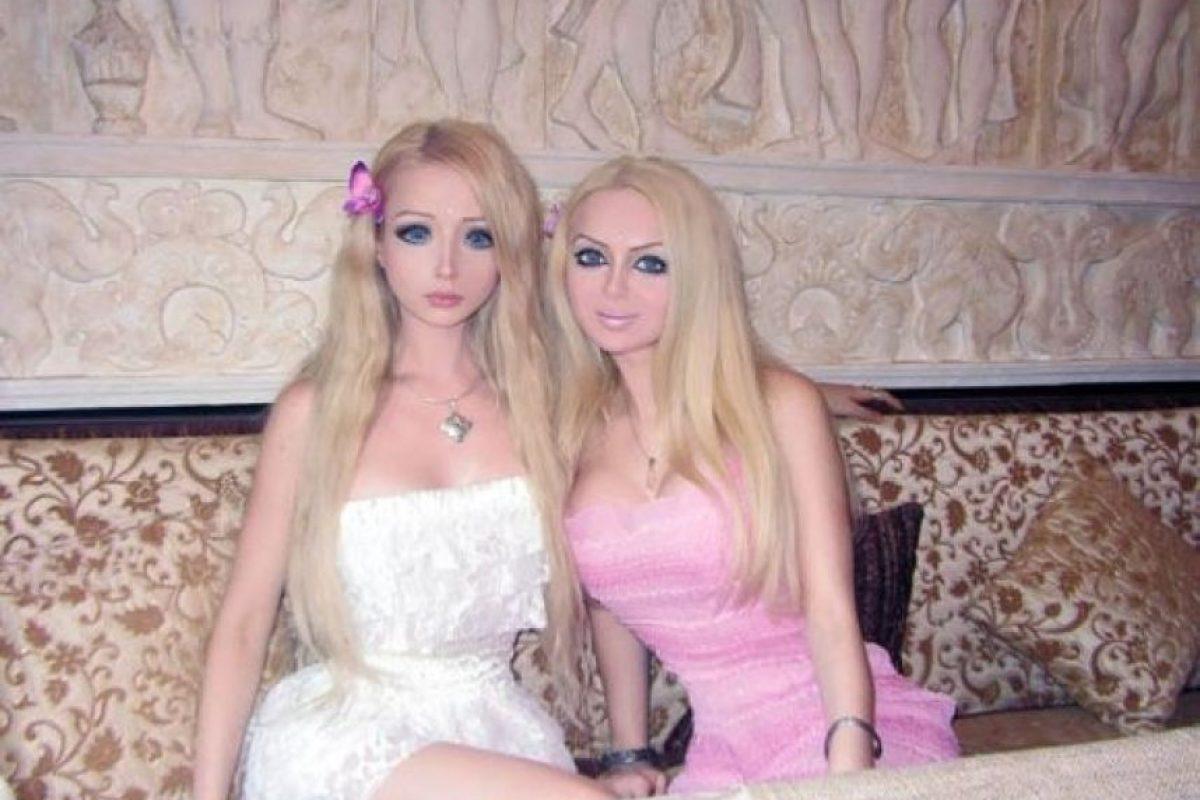 Valeria y su prima Foto:Sitio Web