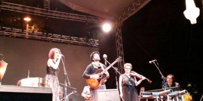 FOTOS. Todo listo para el segundo concierto de Gaby Moreno