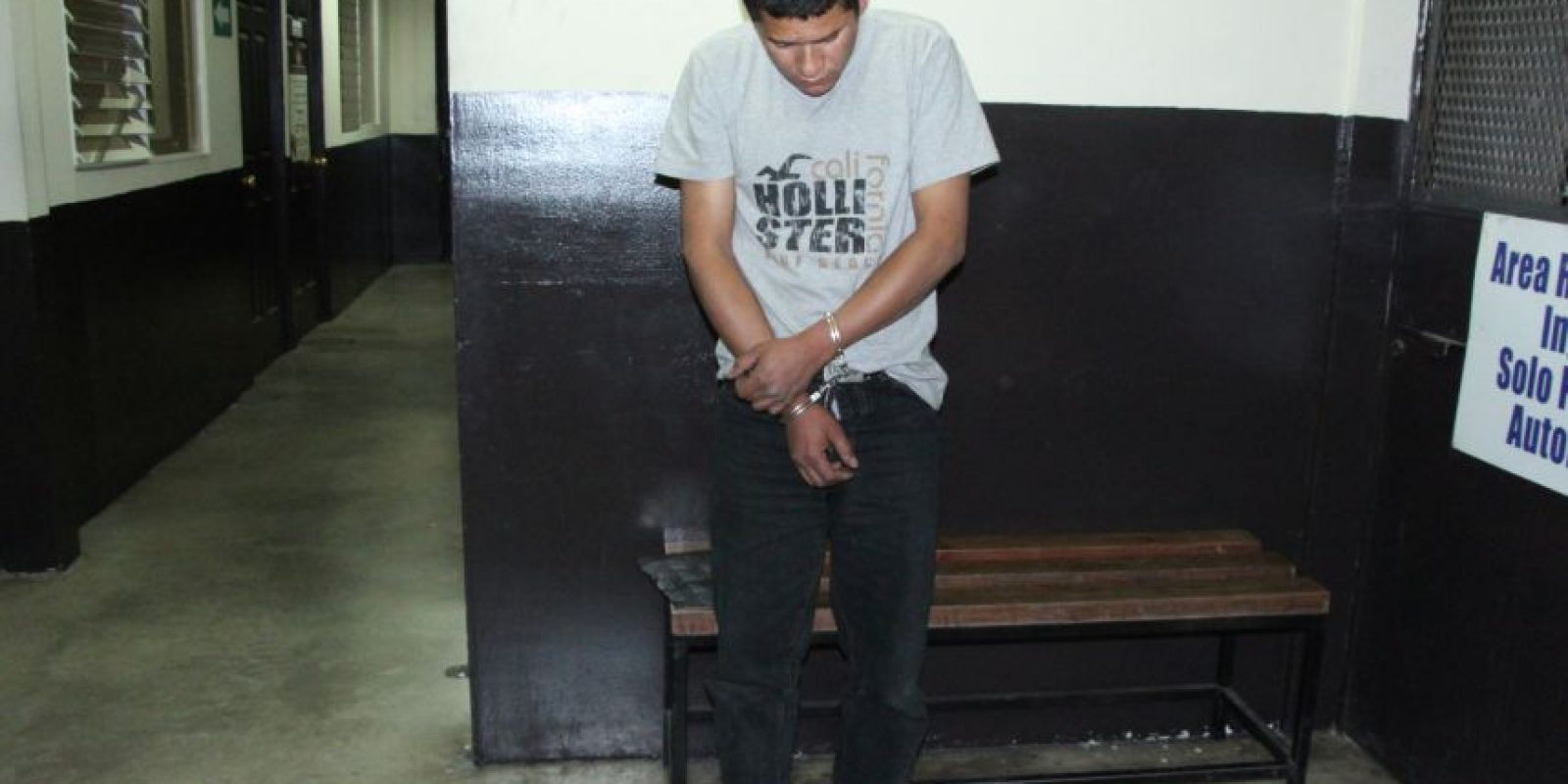 Cesar Eduardo Morales Sandoval, de 26 años Foto:PNC