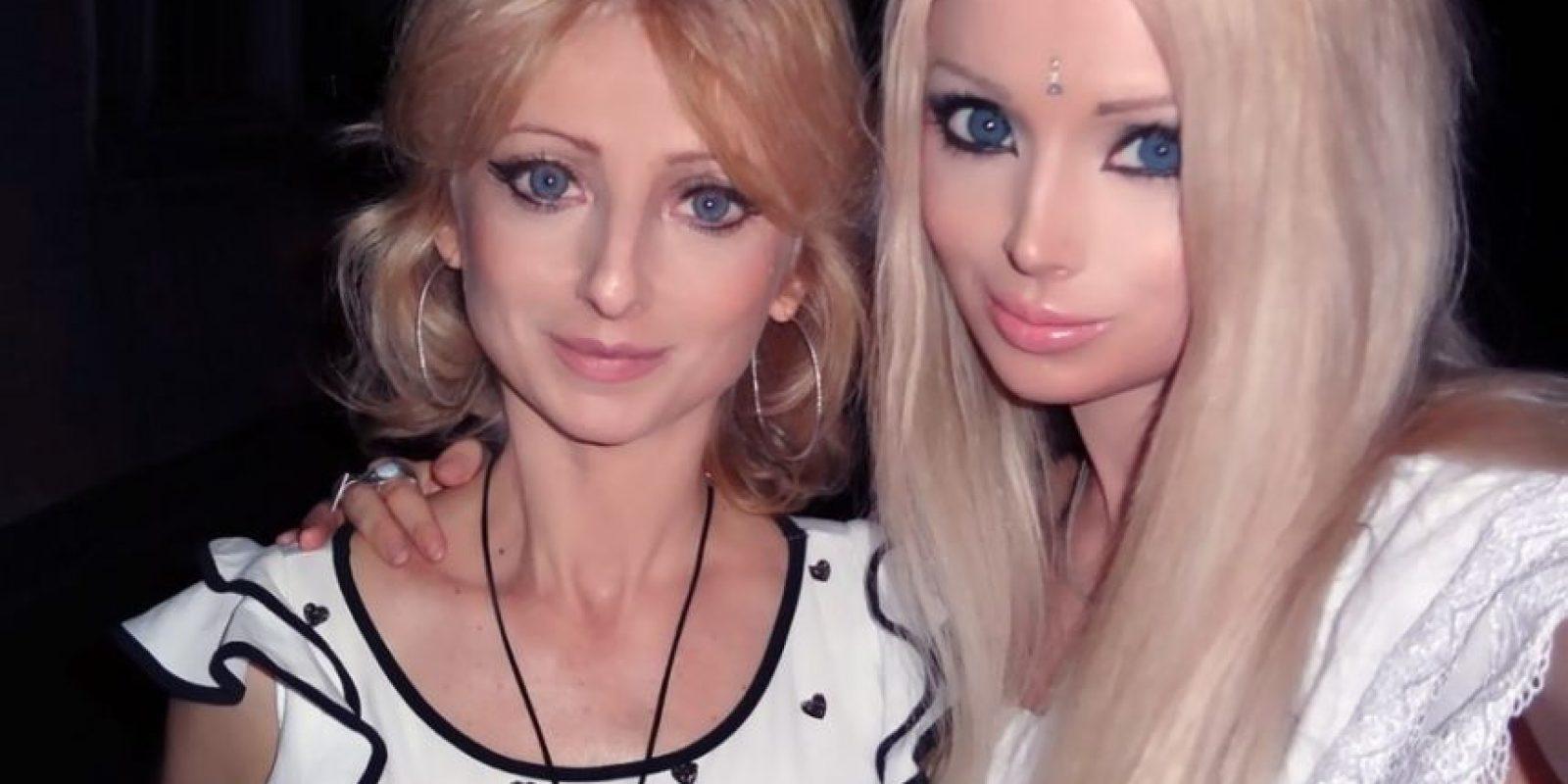 Valeria y su mamá Foto:Sitio Web