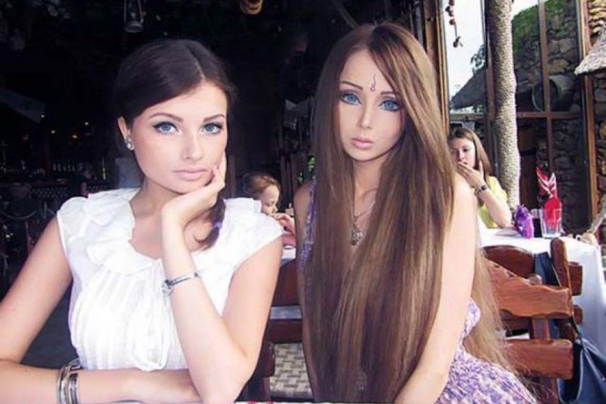 Valeria y su hemana Foto:Sitio Web