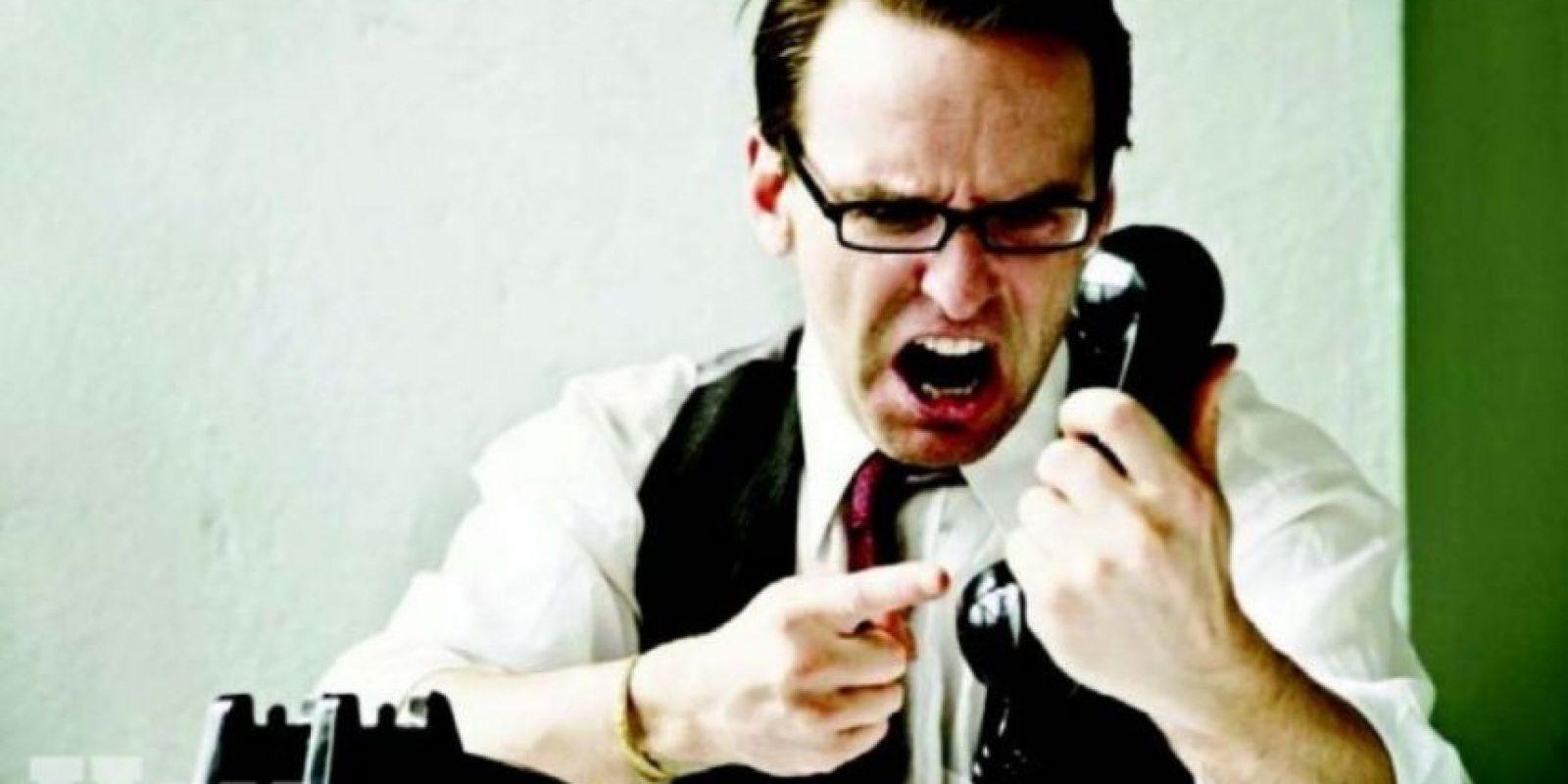 4. El agresivo Foto:Tumblr.com/Tagged-trabajo-oficina