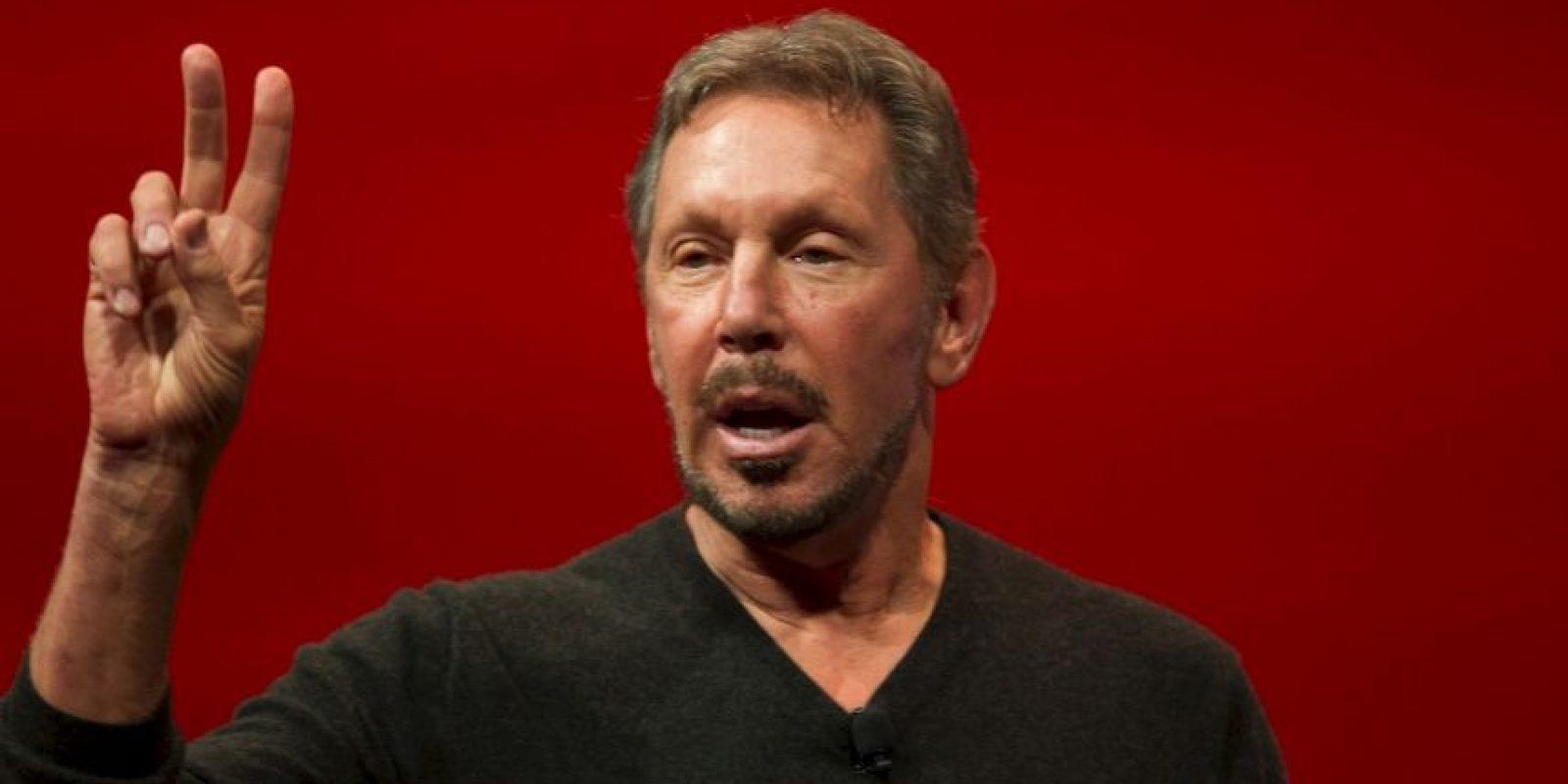 5. Larry Ellison, de 70 años, es originario de Estados Unidos y dueño de la empresa de tecnología Oracle. Foto: Getty Images