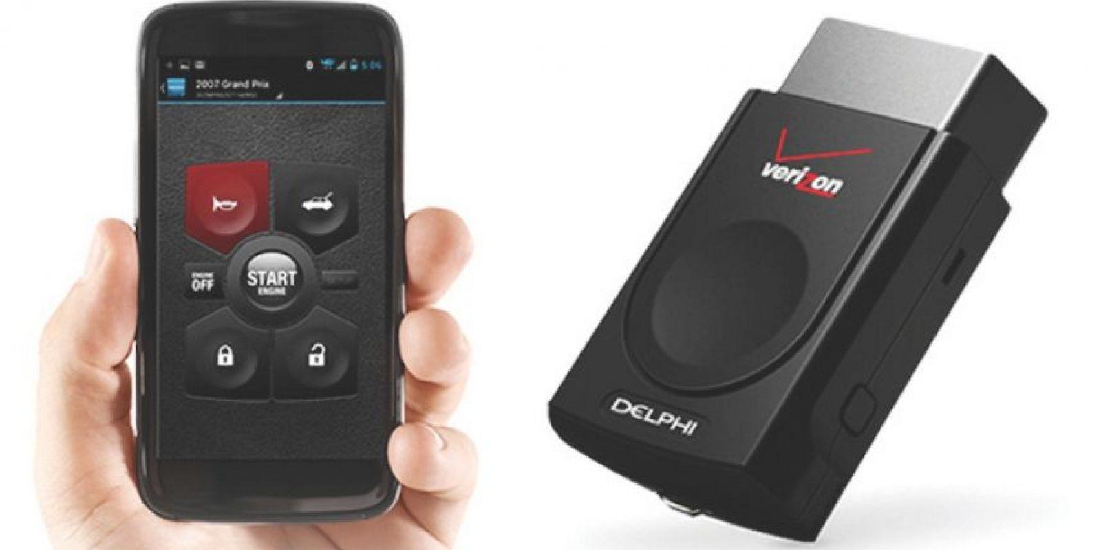 Delphi, diagnóstico de vehículos Foto:Verizonwireless.com