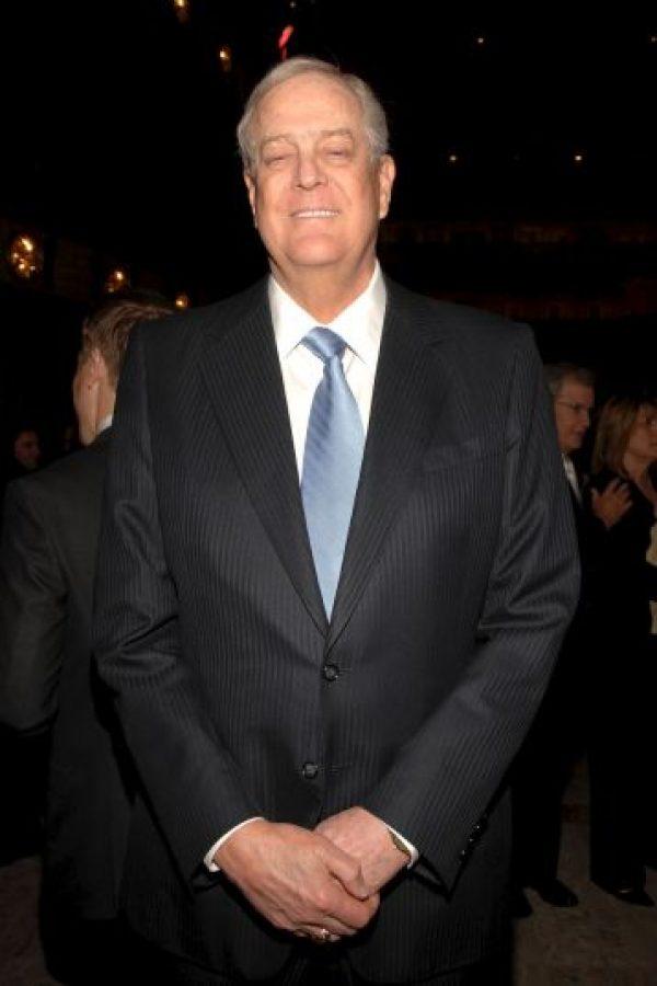 6. David Koch, de 74 años, es originario de EE.UU y dueño de Koch Industries Foto:Getty Images