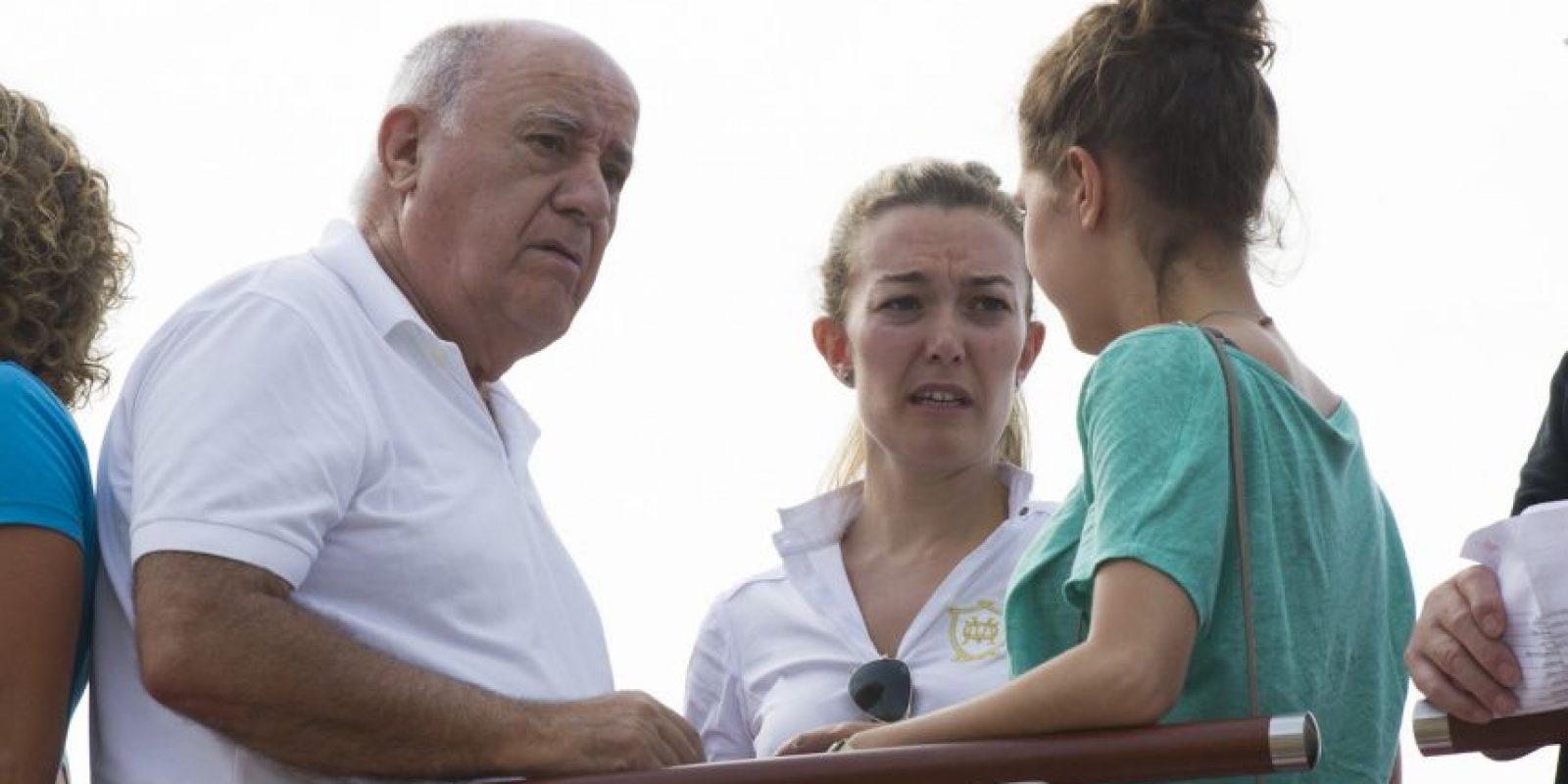 4. Amancio Ortega, de 78 años es originario de España y dueño de la empresa de ropa ZARA Foto:Getty Images