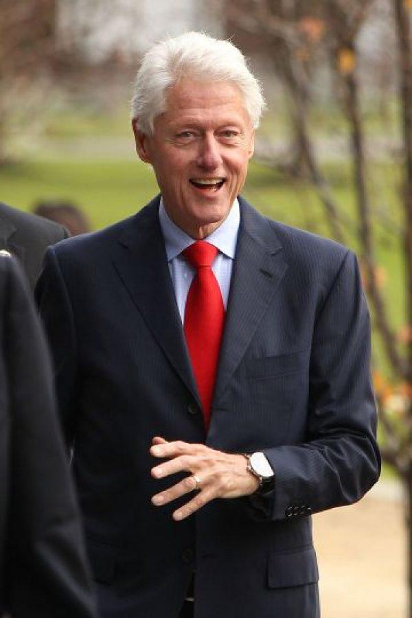 1. El escándalo surgió cuando se supo que, entre 1995 y 1996, el entonces presidente de Estados Unidos, Bill Clinton, sostuvo relaciones con la becaria Monica Lewinsky Foto:Getty