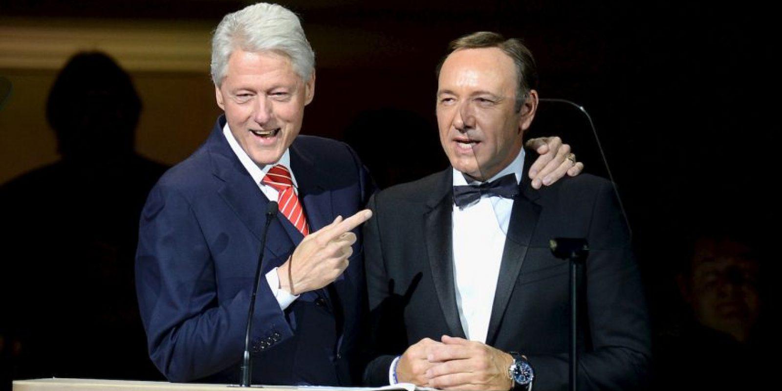 8. El entonces mandatario negó haber tenido relaciones sexuales con Lewinsky. Foto:Getty
