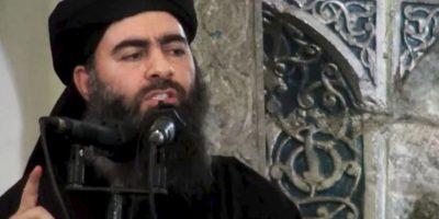 Abu Bakr al-Baghdadi, líder del grupo Estado Islámico Foto:AP