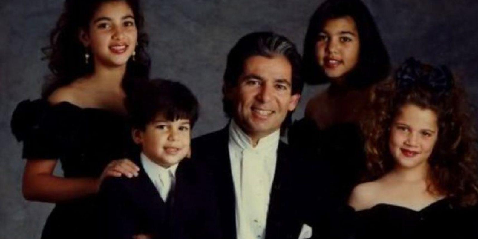 La familia Kardashian ha cambiado mucho desde que fuese conocida por ser Robert, su patriarca, el abogado que defendió a O.J Simpson Foto:Getty Images