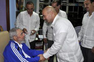 Castro no aperece en eventos públicos desde el 8 de enero de 2014. Foto:granma.cu / Estudio Revolución